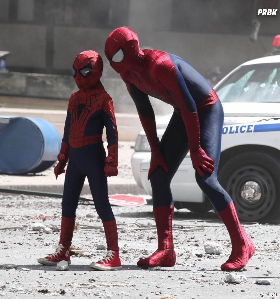 Peter Parker et son partenaire dans The Amazing Spider-Man 2