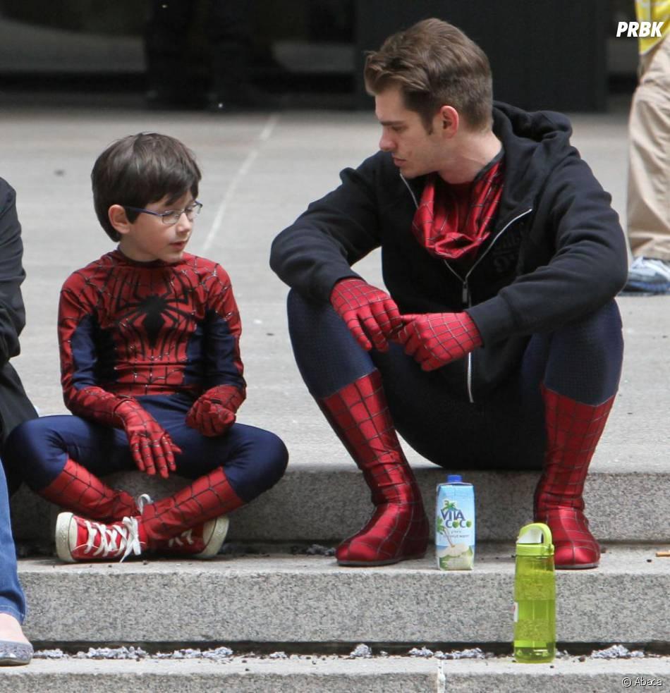 Même les héros prennent des pauses dans The Amazing Spider-Man 2