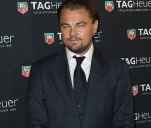 Leonardo DiCaprio, à la soirée Tag Heuer à Paris, le 6 novembre 2013