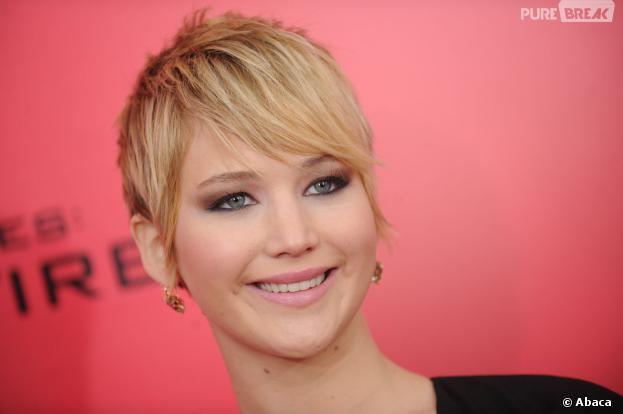Jennifer Lawrence à l'avant-première d'Hunger Games l'embrasement à New York le 20 novembre 2013