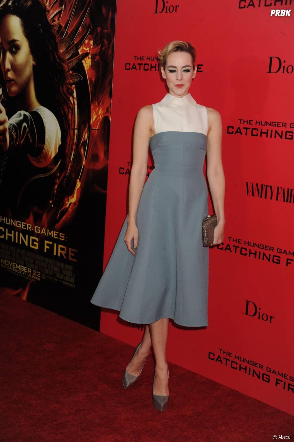 Jena Malone à l'avant-première d'Hunger Games l'embrasement à New York le 20 novembre 2013
