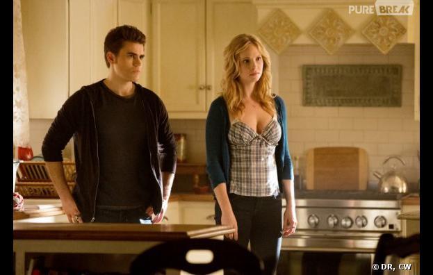 Vampire Diaries saison 5 : Stefan et Caroline bientôt en couple ?