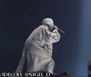 """Kanye West : egotrip pendant le """"Yeezus Tour"""" à Brooklyn, New-York, le 20 novembre 2013"""