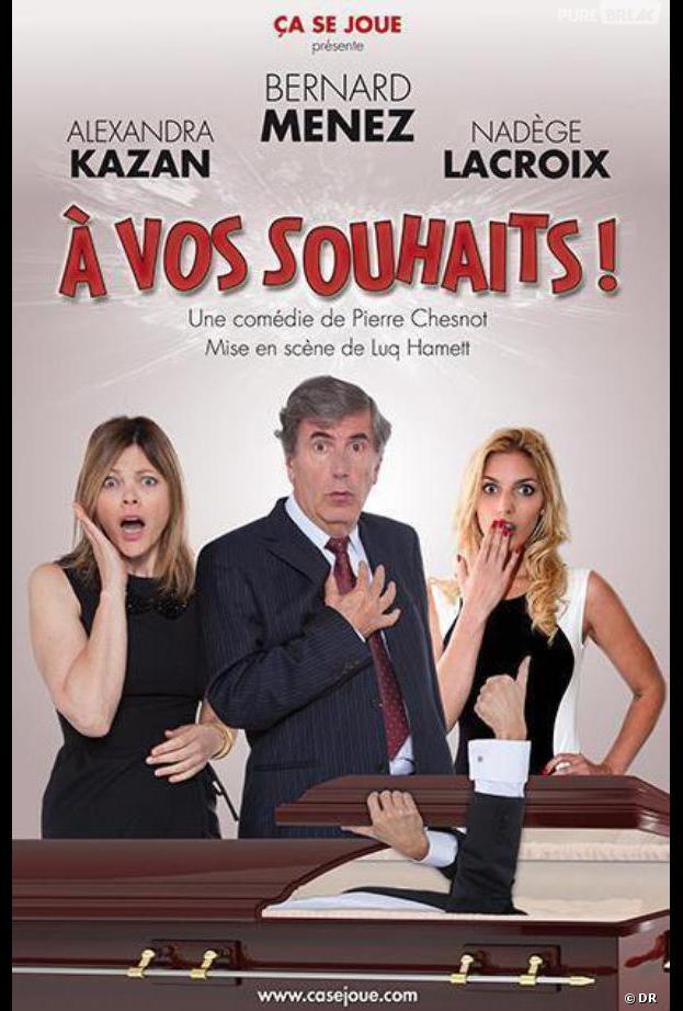 Nadège Lacroix à l'affiche de la pièce A Vos Souhaits !