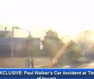 Une caméra de surveillance a filmé l'accident de Paul Walker