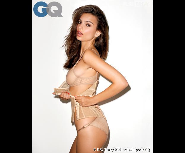 Emily Ratajkowski, héroïne hot du clip Blurred Lines, et fille la plus sexy de 2013 selon GQ