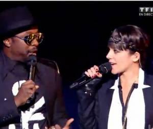 Alizée et will.i.am : leur duo aux NMA 2014