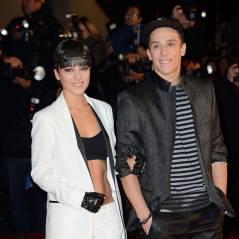 Alizée et Grégoire Lyonnet : en couple sur le tapis rouge des NMA 2014
