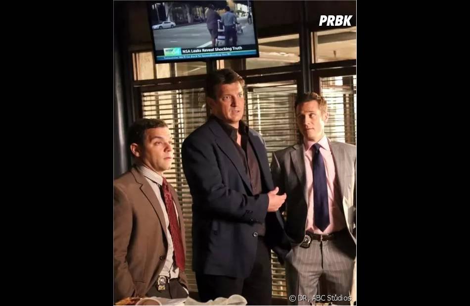 Castle saison 6, épisode 3 : le nouveau détective incarné par Joshua Bitton se dévoile