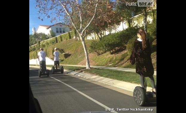 Justin Bieber et Selena Gomez se retrouvent à Los Angeles le 2 janvier 2014