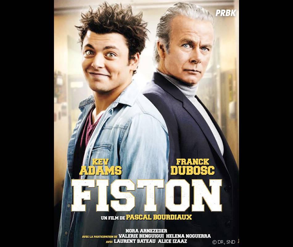 Kev Adams : l'affiche de Fiston, au cinéma le 12 mars 2014