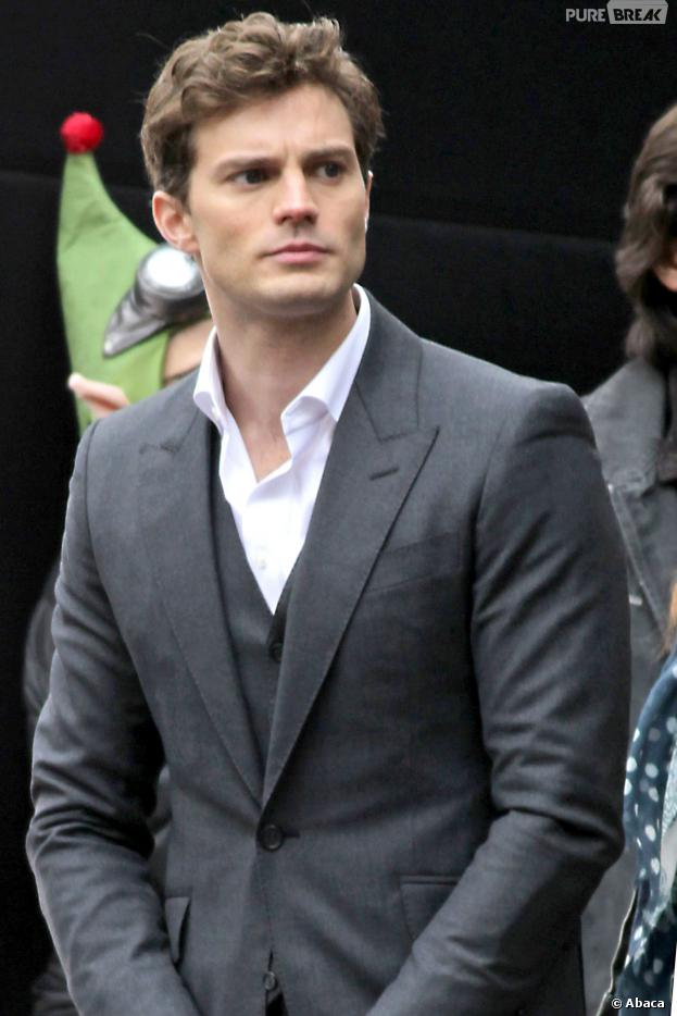 fifty shades of grey jamie dornan sur le tournage le 19