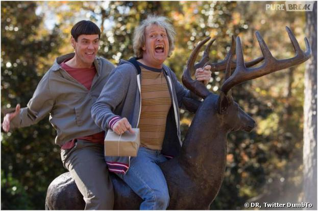 Jim Carrey et Jeff Daniels sur la première photo officielle de Dumb and Dumber To