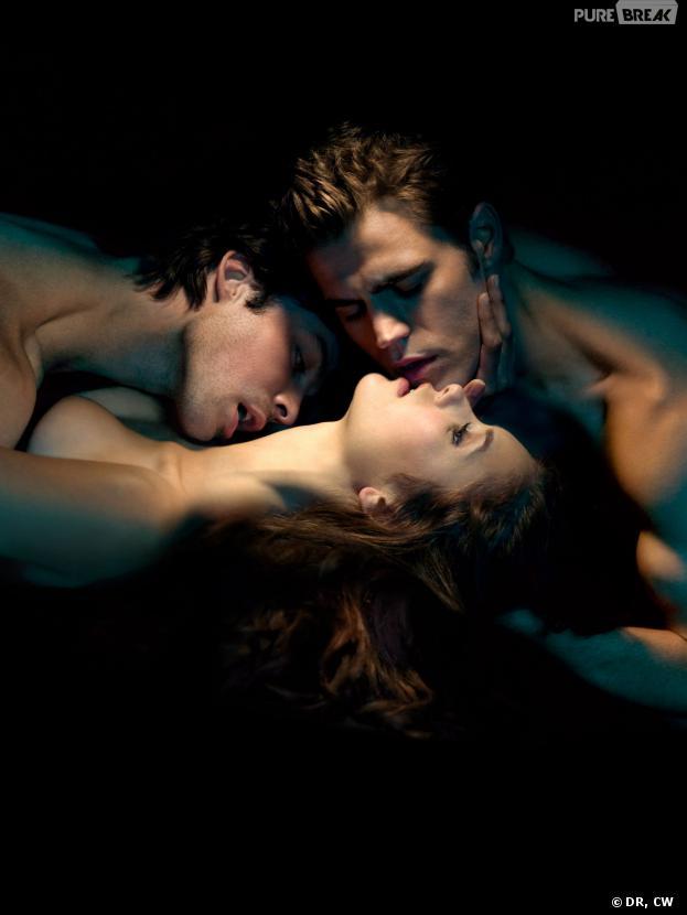 Vampire Diaries saison 5 : le retour du triangle amoureux