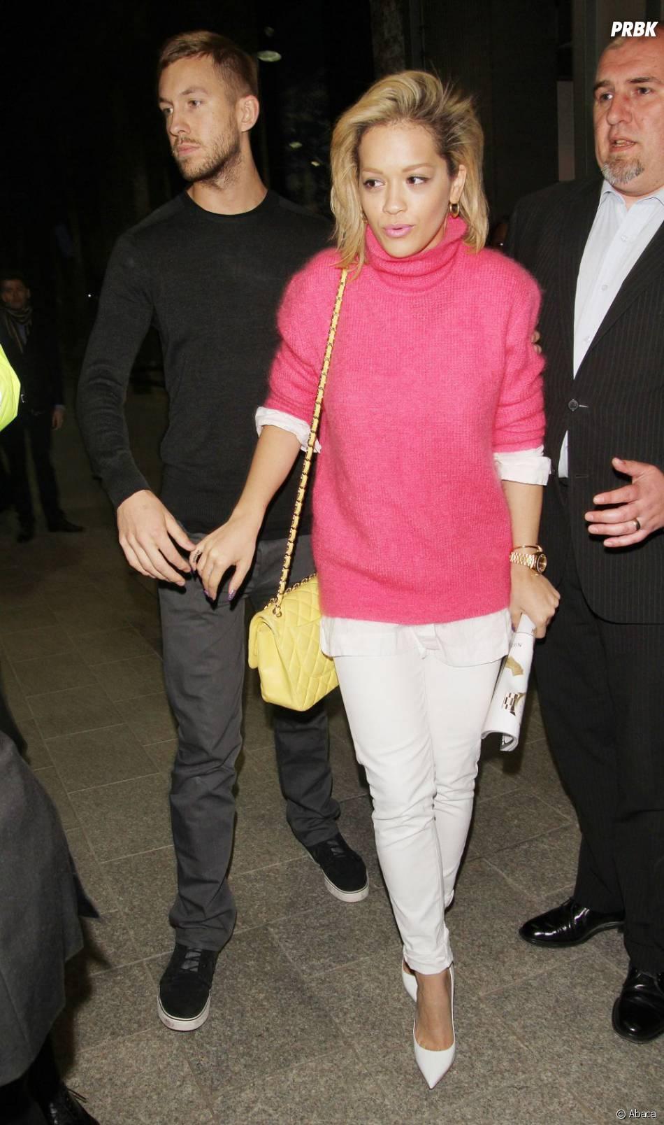 Calvin Harris (ici avec Rita Ora) prépare une série comique sur HBO avec l'aide de Jay Z et Will Smith