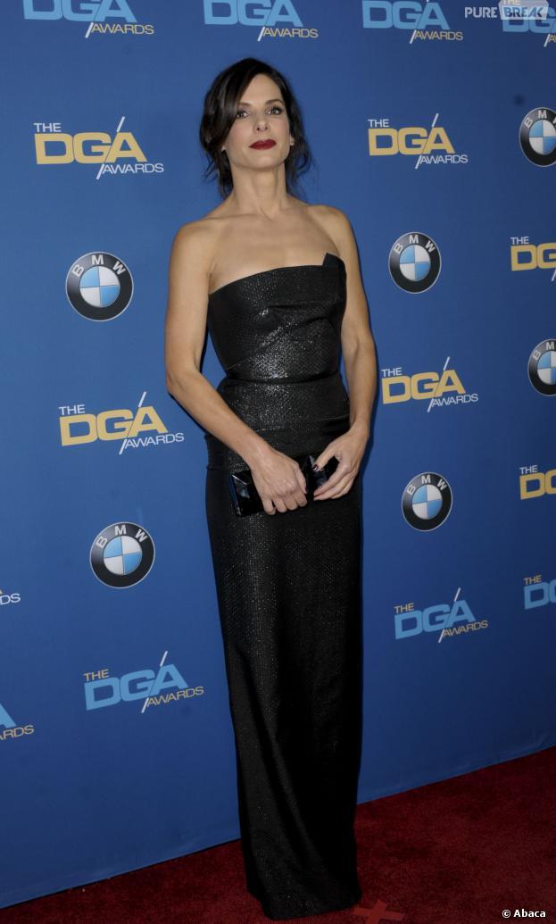 Sandra Bullock à la cérémonie des DGA Awards le 25 janvier 2014 à Los Angeles