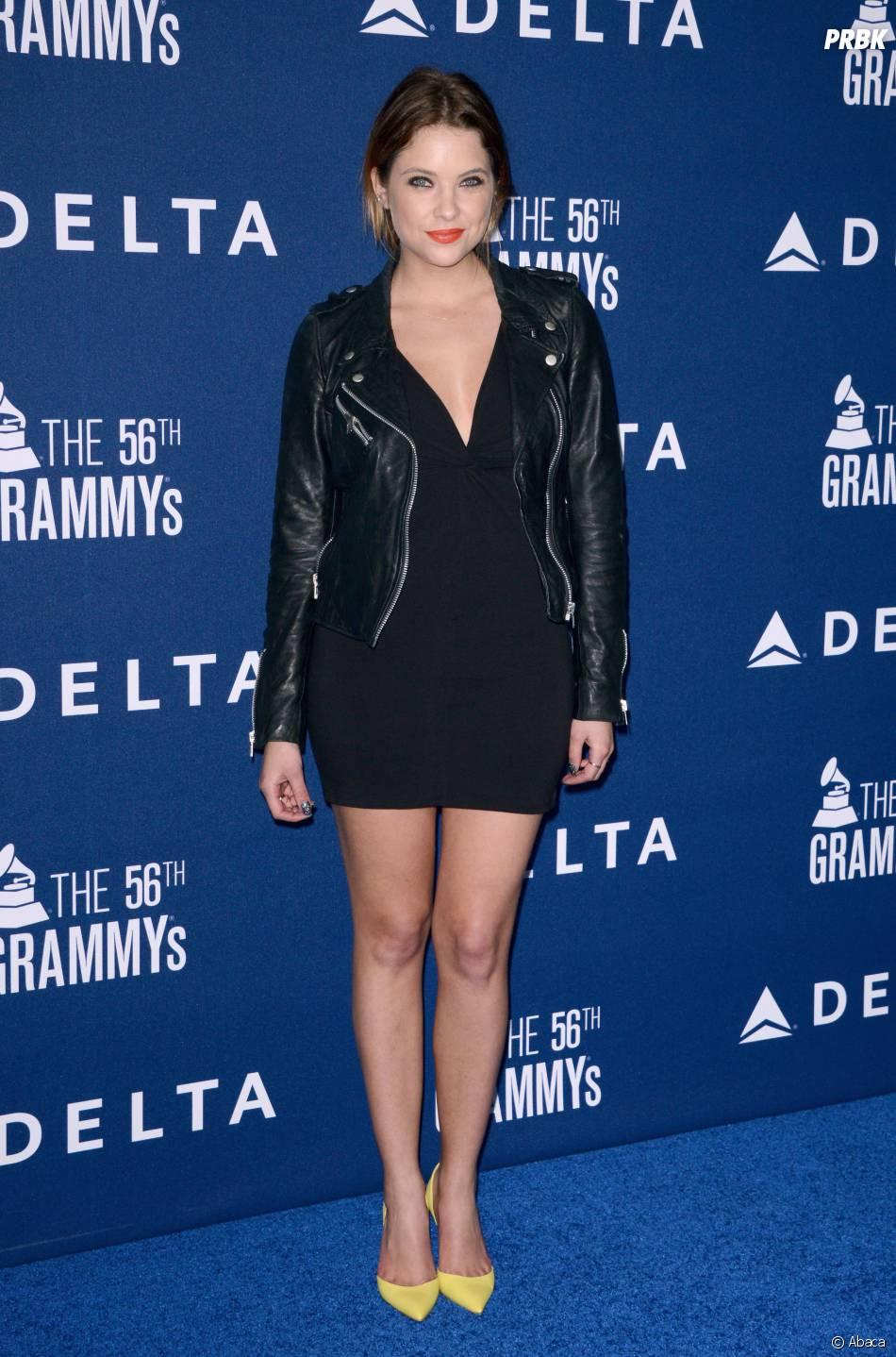 Ashley Benson à la soirée Delta Airlaine Grammy Awards, le 23 janvier 2014 à Los Angeles