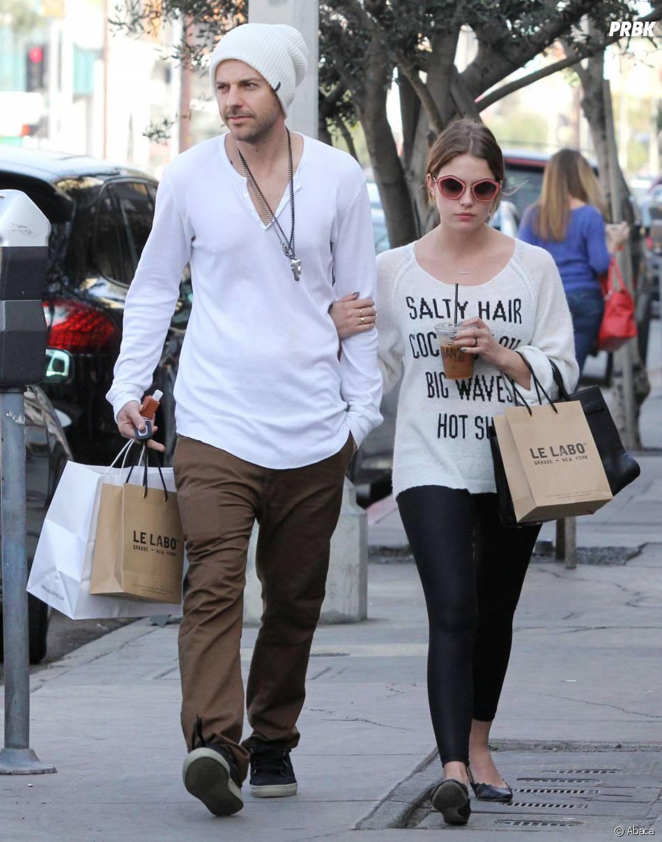 Ashley Benson et Ryan Good en couple : sortie à Los Angeles, le 23 janvier 2014