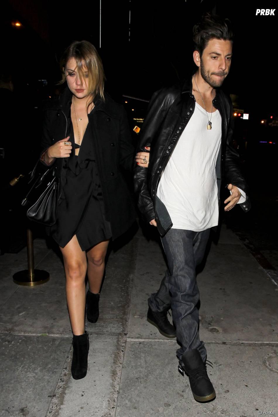 Ashley Benson et Ryan Good à l'anniversaire d'Usher, le 14 octobre 2013