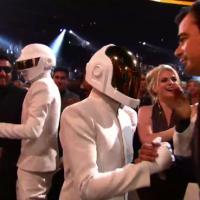 Daft Punk : sans casques et à visage découvert dans le public des Grammy Awards 2014 ?