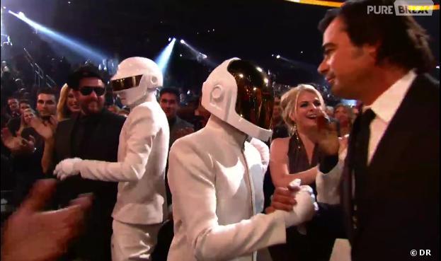 Daft Punk : sans leurs casques aux Grammy Awards 2014 ?