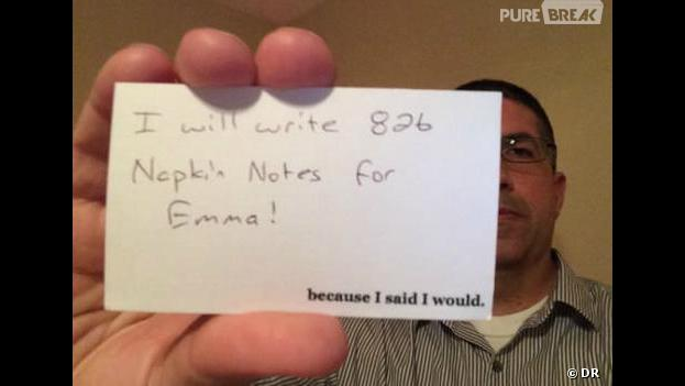 Un papa écrit 800 mots pour sa fille avant de mourir