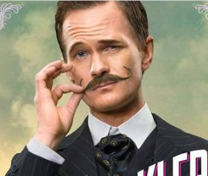 A Million Ways To Die In The West : Neil Patrick Harris moustachu sur son affiche personnage