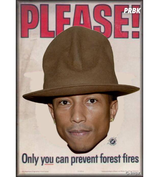 Pharrell, défenseur des forêts.