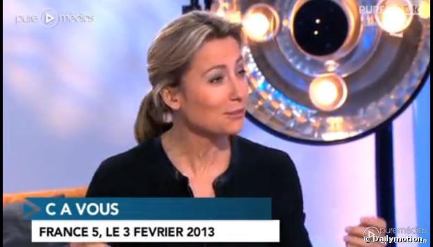 Vincent Lindon : coupé en se rasant, il saigne sur le plateau de C à Vous le 3 février 2014 sur France 5
