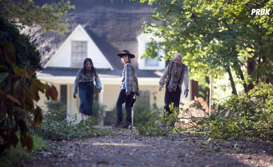 Walking Dead saison 4, épisode 9 : Carl au centre d'une photo
