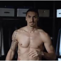 Zlatan Ibrahimovic torse nu et séducteur pour la pub Nivea
