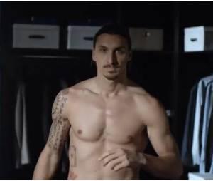 Zlatan Ibrahimovic dans la pub Nivea Men
