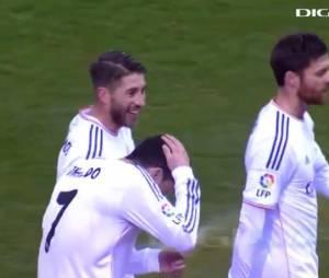 Cristiano Ronaldo victime d'un briquet