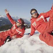 Le Palmashow : les monos de ski, le clip de rap délirant sur les pistes noires