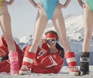 Le Palmashow revient sur D8 avec Les monos de ski, un clip de rap délirant