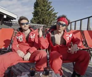 Palmashow :David Marsais et Grégoire Ludig dans la peau de monos de ski