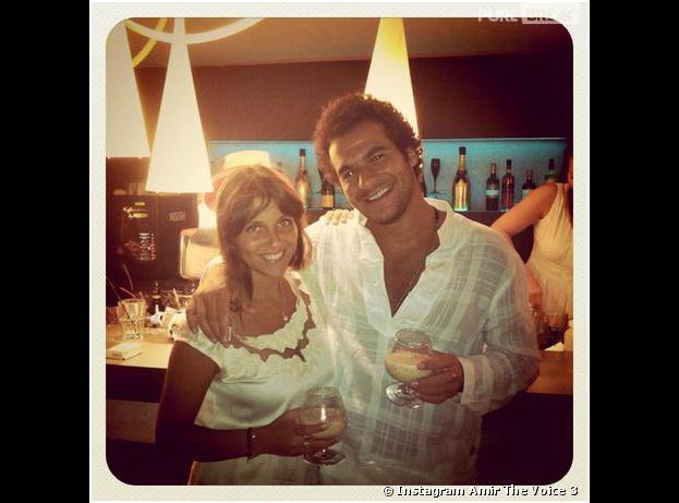 The Voice 3 : Amir et sa fiancée Lital