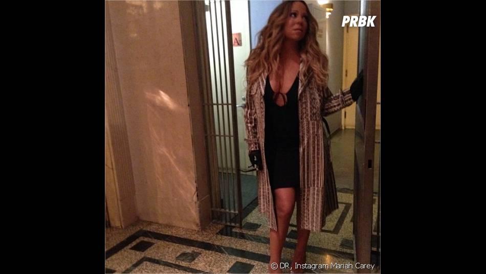 Mariah Carey adore s'exhiber sur Instagram