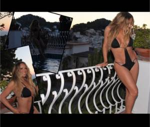 Mariah Carey est souvent en bikini sur Instagram