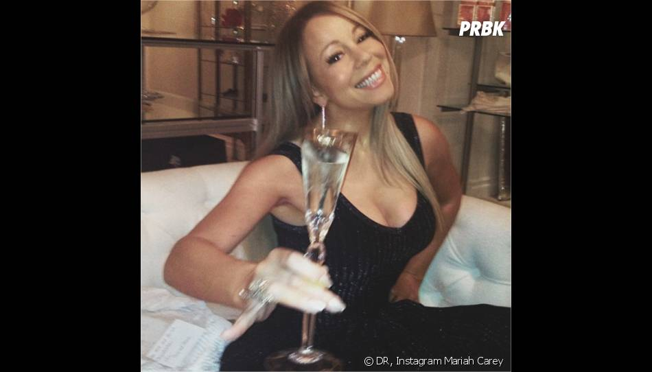 Mariah Carey toujours sexy sur Instagram
