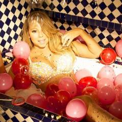 Mariah Carey en bikini en bonbons : Saint-Valentin sucrée dans sa baignoire