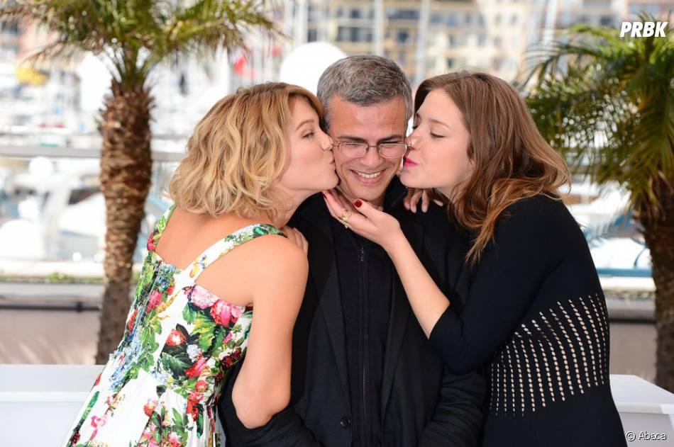 La Vie d'Adèle d'Abdellatif Kechiche, avec Léa Seydoux et Adèle Exarchopoulos, comporte de très nombreuses scènes explicites