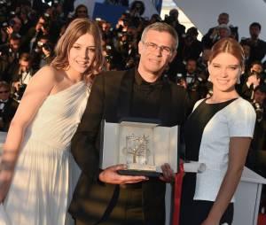 La Vie d'Adèle : Léa Seydoux et Adèle Exarchopoulos ont remporté la Palme d'Or du Festival de Cannes 2013