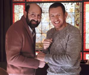 Dany Boon et Kad Merad dans Supercondriaque (sortie le 26 février 2014 au cinéma)
