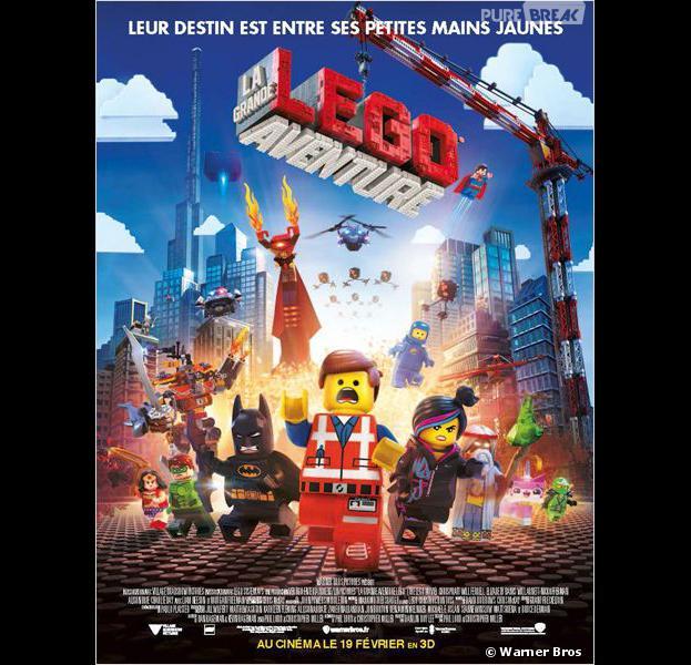 Lego, la grande aventure sort ce mercredi 19 février au cinéma