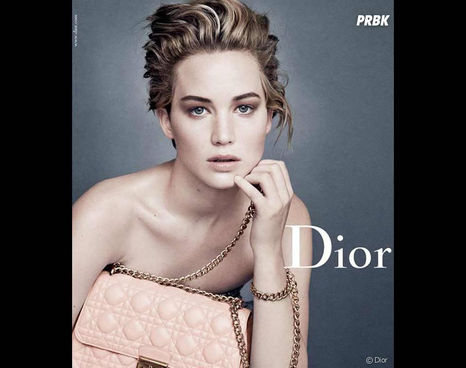 Jennifer Lawrence au naturel pour Dior