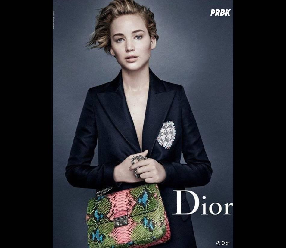 Jennifer Lawrence : nouvelle campagne de pub pour Dior