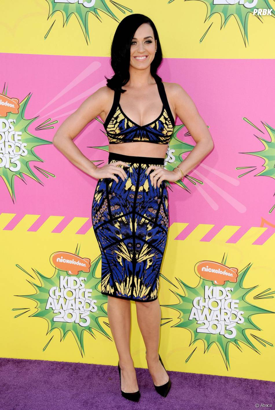 Katy Perry sexy en solo aux Kids' Choice Awards 2013