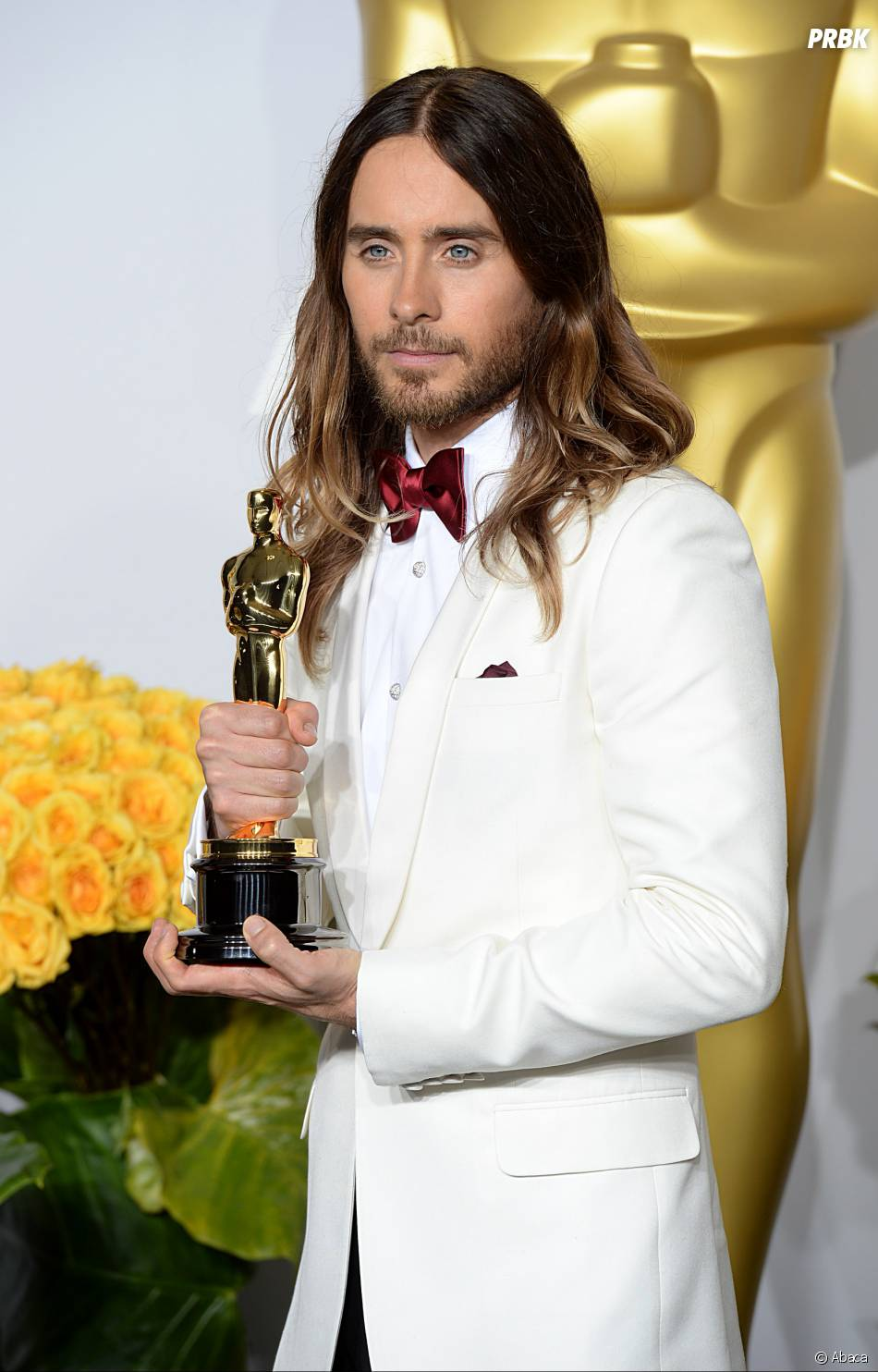 Jared Leto gagnant aux Oscars 2014 le 2 mars à Los Angeles