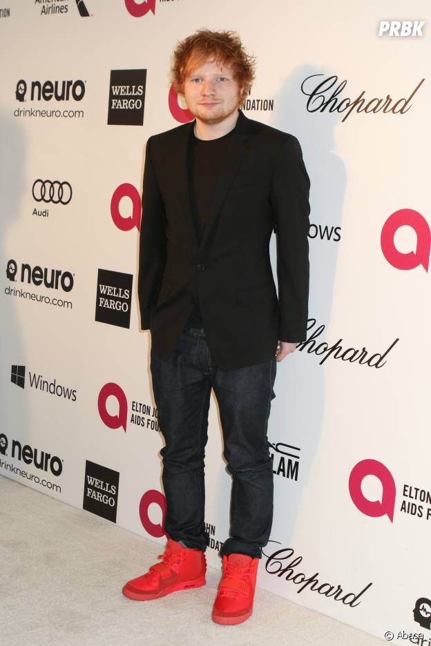 lors d'une soirée organisée par Elton John le 2 mars 2014